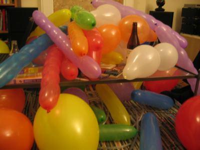 Balloons, ta da!