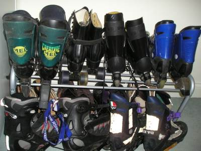 Six Pairs Of Skates