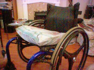 Mo's Indoor Wheelchair