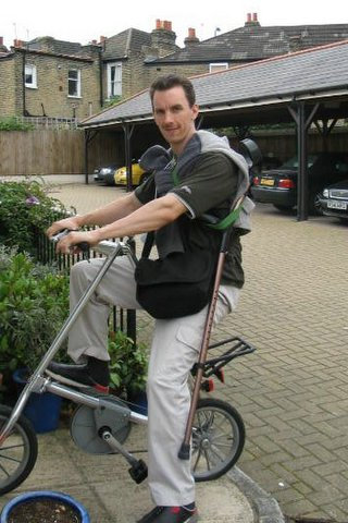 Paul With Strida